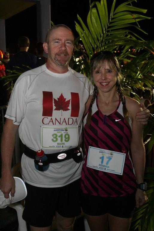 Marathon runners say 'thanks'