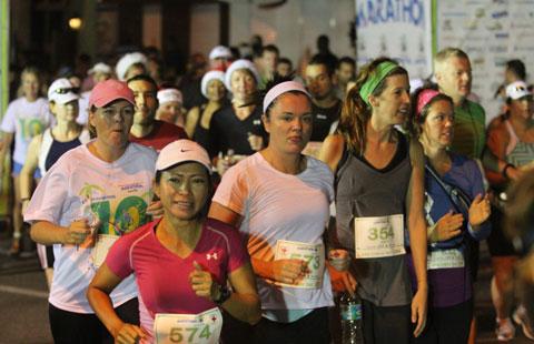 Marathon Fees Rising